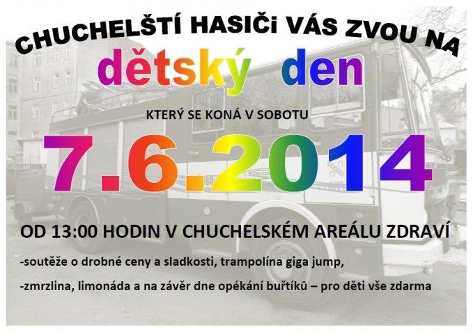 DD s SDH               Chuchle - pozvánka