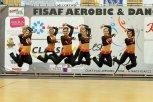 fitness tým seniorek - Bond Girls - 2. místo fitness týmy