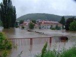 Další pohled na zaplavenou SŠDSaJ ... foto: Jan Zágler