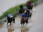 Povodeň 2002 - chuchelské závodiště 1