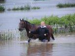 Povodeň 2002 - chuchelské závodiště 8