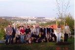 2004 - sázení lípy Evropy