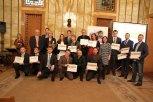 Zlatý Erb 2015 - společné foto všech oceněných