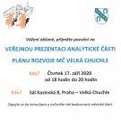 Veřejná prezentace Plánu rozvoje Chuchle