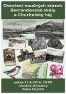 Otevření naučné stezky Chuchelský háj - leták