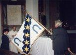 2001 - slavnostní svěcení praporu