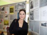 Oslav se zúčastnila také bývalá žákyně školy herečka Michaela Kuklová.