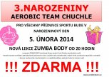 3. narozeniny Aerobic Team Chuchle