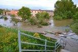 Okolí Čechoslovanu při opadávání vody ... foto: Pavel Kováč